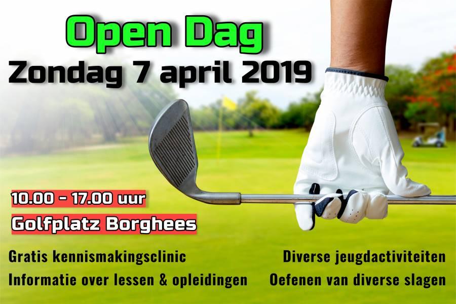 Open Dag - zondag 7 april 2019